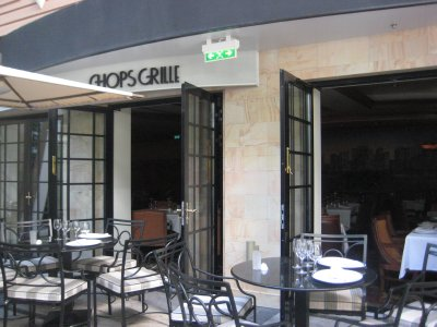 Chops Grille in Central Park