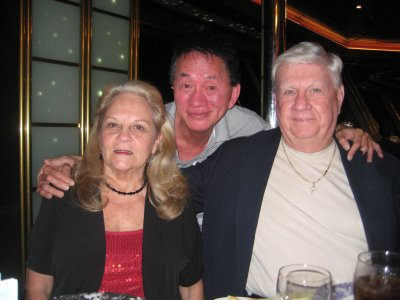 Patti, Bud and their 'son' Tony!  You had to have been there!