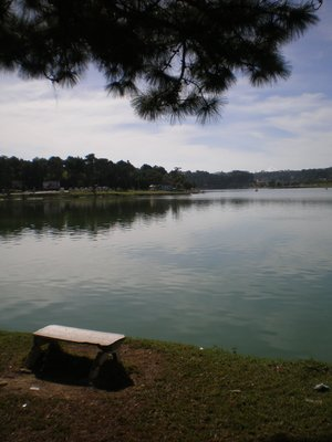 Lake in Dalat Mountain, Vietnam-Xuan Huong Lake