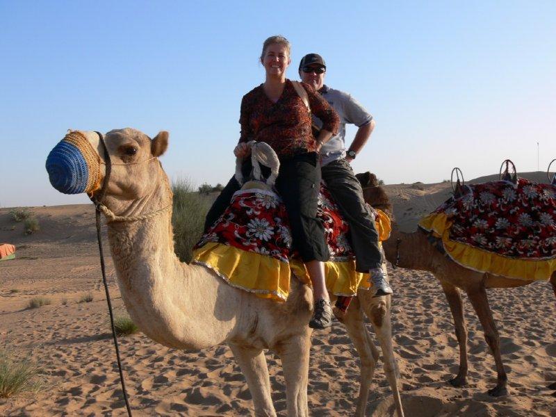 Dubai Camel Riding at Desert Safari