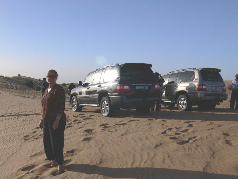 Dubai Liz Dune Bashing
