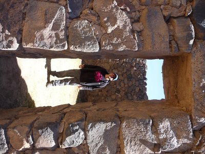 Phil in Inca Ruins