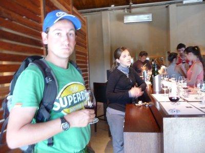 Phil wine tasting Mendoza