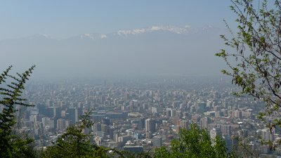 Santiago - view from San Cristobal Lookout