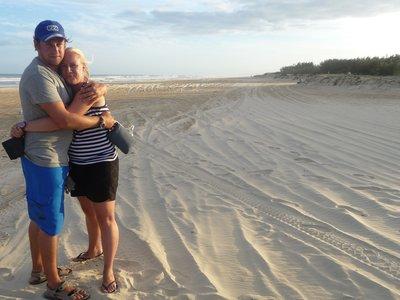 At Fraser Island