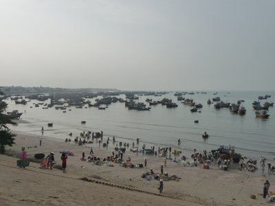 Vietnamese Fishing Village near Mui Ne