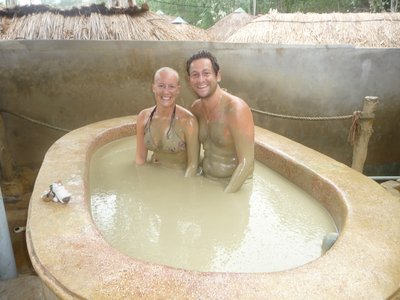 Mud baths!