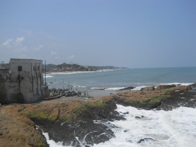Cape Coast Castle view