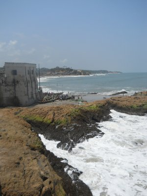 Cape Coast Castle beach
