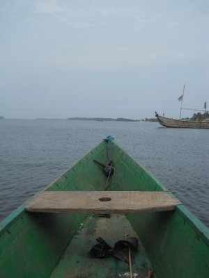 Ada Foah - Canoe Trip down Lake Volta