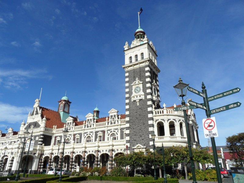 Estación de tren de Dunedin