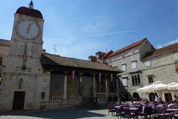 Plaza Mayor de Trogir, Croacia