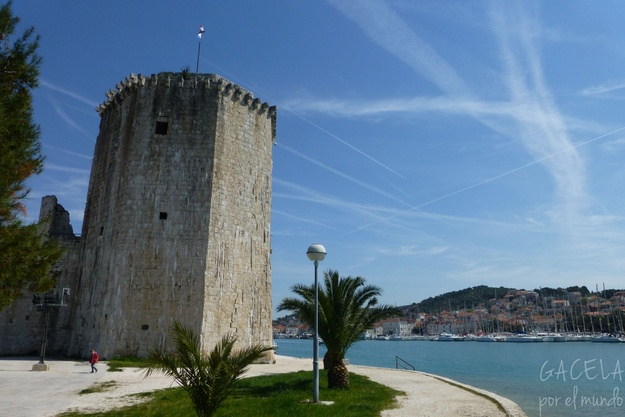 Fuerte Kamerlengo, Trogir, Croacia