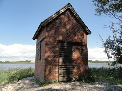 Bird hide, Årslev Engsø