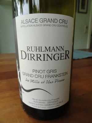 Pinot Gris Grand Cru Frankstein