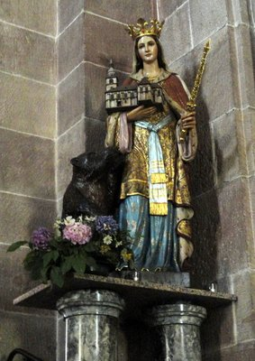 St Richarde and the bear