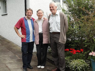 Chas, Jan and Roger