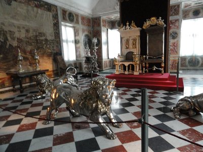 Coronation Chair, Rosenborg Castle