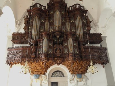 Vor Freslers Kirke Organ