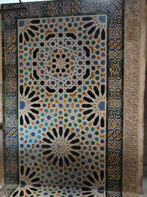 Example of the beautiful ceramic tiling