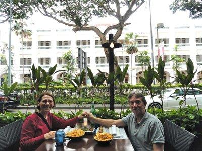 Last dinner in Singapore