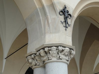 Beautiful detail, The Cloth Hall, Krakow