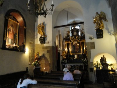 Interior, St Adalbert&#39;s Church