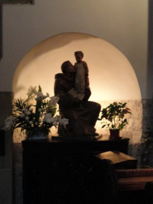 Statue, St Adalbert's Church
