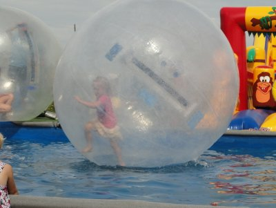 Fun water activity for children