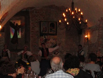 Traditional Polish dancing, Bohema Restaurant