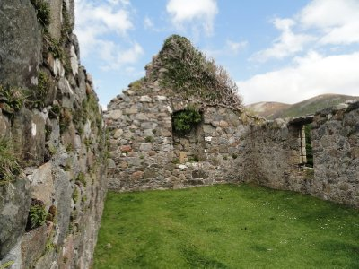 Derelict church on Isle of Skye
