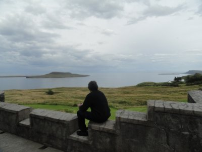 Looking out to Staffin Bay