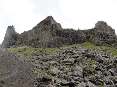 Access to Old Man of Storr