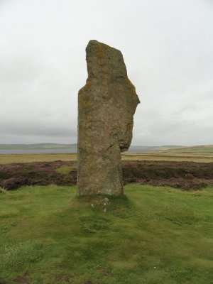 Standing stone, Ring of Brodgar