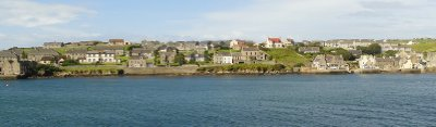 Stromness taken from the departing ferry