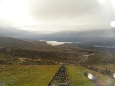 View as you ride the Funicular to the base