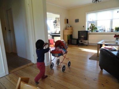 Olivia at play