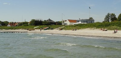 Bellevue Beach  ..  an unspoilt Danish beach