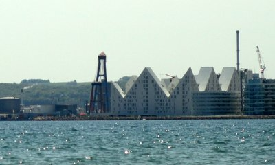 The Iceberg apartments on the waterfront