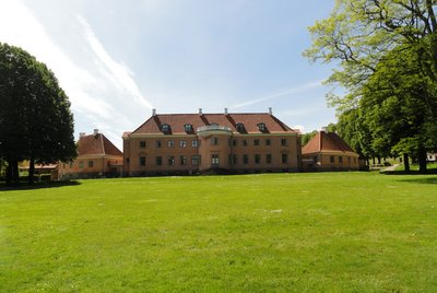 Moesgaard Manor looking from the park