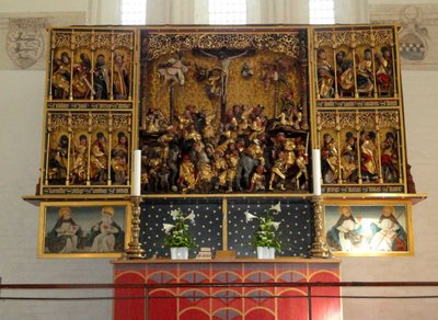 Altarpiece, Church of Our Lady, dated c.1500