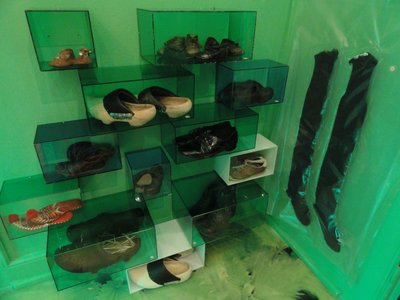 Shoes, including local clogs