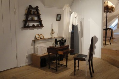 Sewing room and equipment