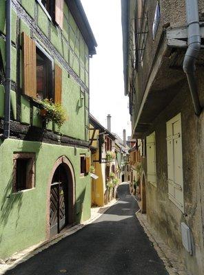 Interesting narrow streets