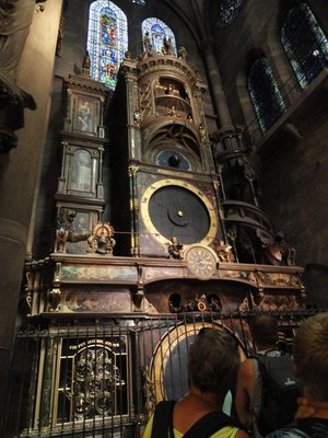18-metre astronomical clock
