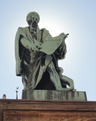 Statue of Johannes Gutenberg