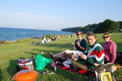 Summer BBQ at beach1