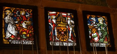 Beautiful stained windows