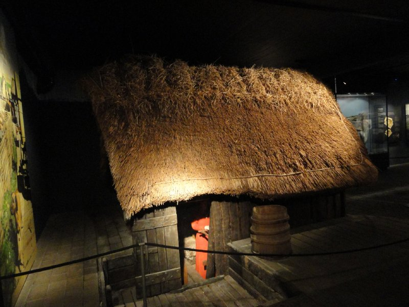 Reconstructed pit house