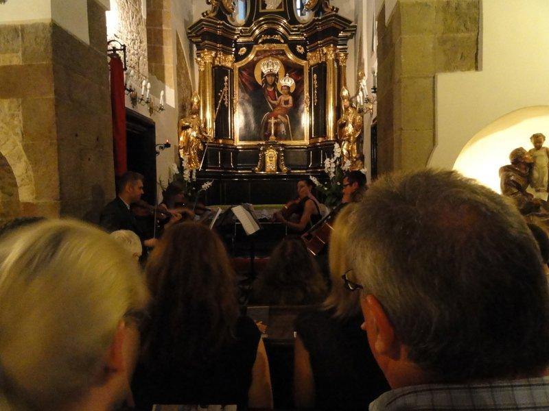 Chamber orchestra, St Adalbert's Church